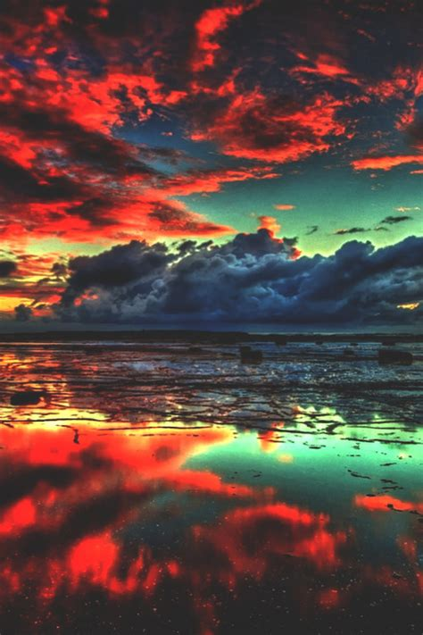photography beautiful sky landscape surf water clouds