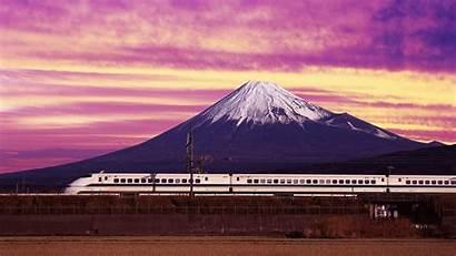 Japan Wallpapers Sun Rising Land Background Advertisement