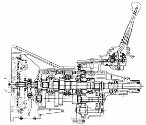 1998 Isuzu Rodeo Transmission Diagram