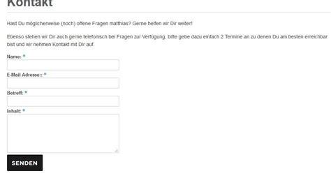 Wordpress Kontaktformular Erstellen Mit Plugin Contact