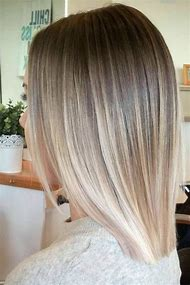 Short Blonde Ombre Hair Color Ideas