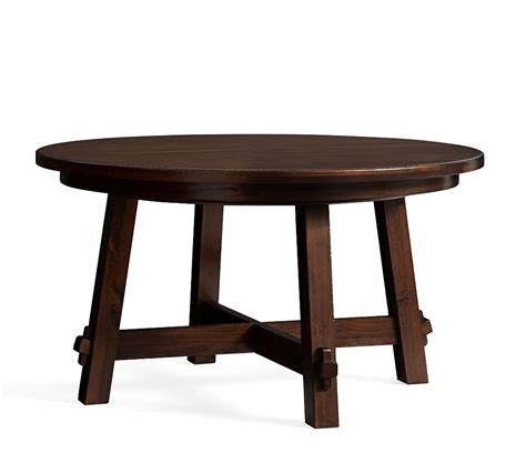 This dining table and its natural wood grain finish completes your dining room's look no matter the style. 25 Photos Tuscan Chestnut Toscana Pedestal Extending ...