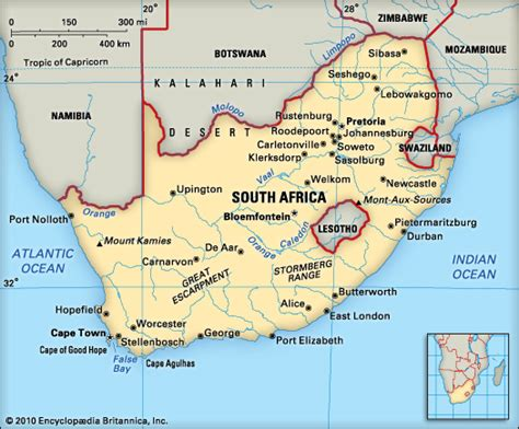 South Africa: geography - Kids | Britannica Kids ...