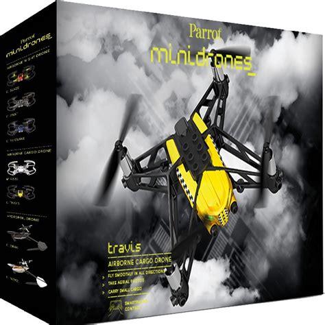 acheter  parrot minidrone airbone cargo travis sur robot advance