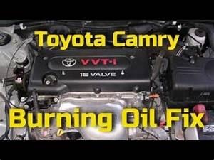 Camry Burning Oil Fix  Toyota 2 4 Camry   Rav