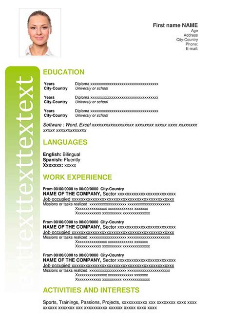 You asked for my curriculum vitae, so here it is. Curriculum Vitae Sample Format - Collection - Letter Templates