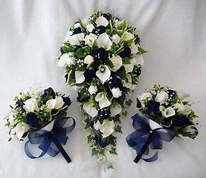 WEDDING FLOWERS BOUQUETS - BRIDES BOUQUET 2 POSIES CALA ...