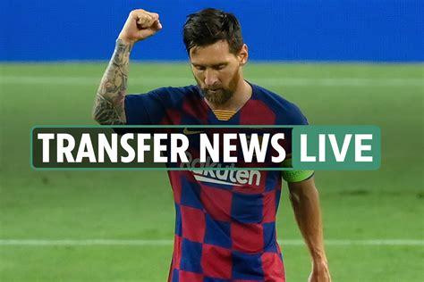 Lionel Messi transfer news LIVE: Rooney backs Man Utd move ...