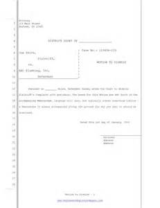 Pa Certificate Of Good Standing by Motion To Dismiss Free Template Form