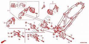 Frame For Honda Wave Dash 110 R  Electric Start  Rear