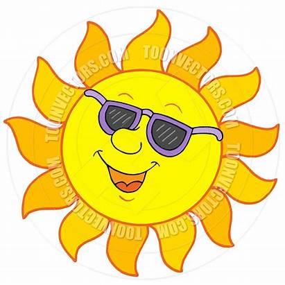 Yellow Things Clipart Cartoon Sun Sunglasses Clipground