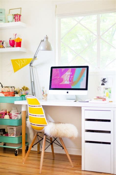 Easy And Cool Diy Ikea Desk Hack  Shelterness