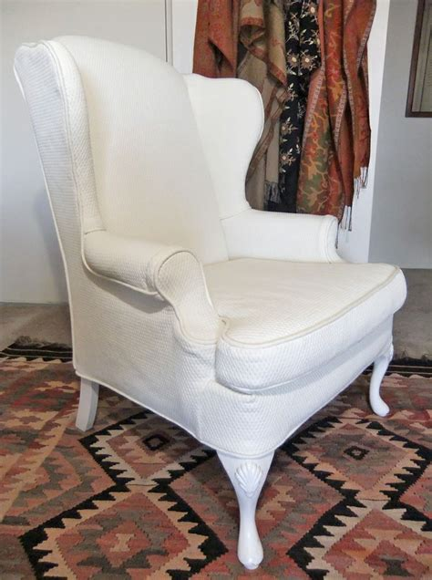 pattern for chair slipcover wingback chair slipcover in pattern matelasse by