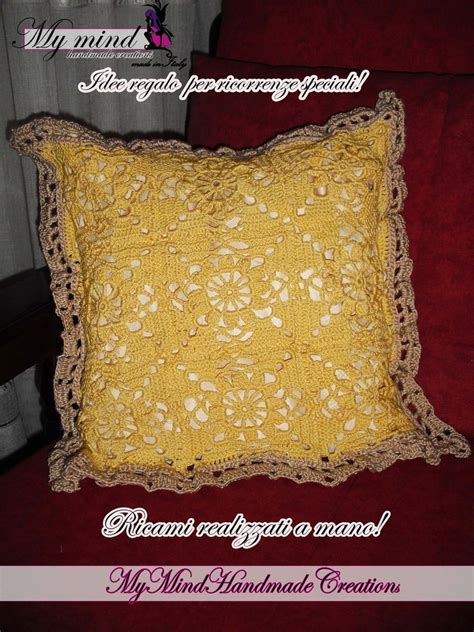 Cuscini A Uncinetto by Federe Cuscini Ad Uncinetto Per La Casa E Per Te