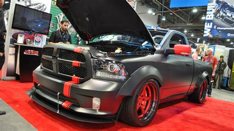 New Dodge Hellcat Truck by Hellcat Powered Ram Hellfire Debuts At Sema