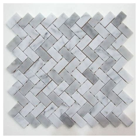 Rona Bathroom Tiles by Rona Backsplash Quot Camber Quot Marble Mosaic Material