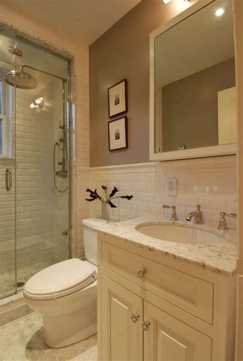 The Renovated Home  Bathrooms  Cream Vanity, Cream Sink