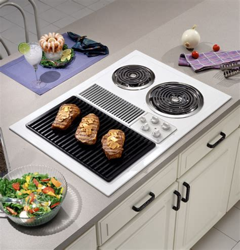 ge  select top modular downdraft cooktop jpwvww ge appliances