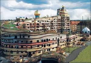 friedensreich hundertwasser architektur of design forest spiral hundertwasser building darmstadt germany