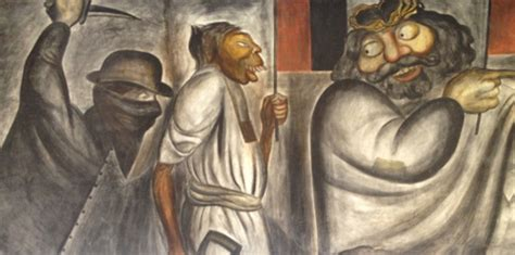 Jose Clemente Orozco Murales San Ildefonso by Antiguo Colegio De San Ildefonso