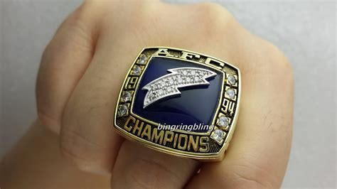 San Diego Chargers 1994 Afc Replica Championship Rings
