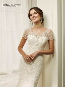 wedding dresses uk only ronald joyce 69216 hadara fit and flare lace wedding dress