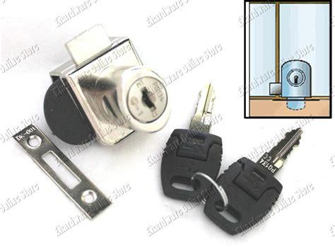 glass cabinet door locks showcase cabinet double swing glass door lock ks2000