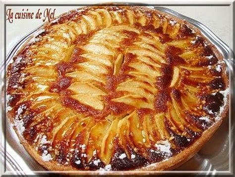tarte aux pommes caramel recette