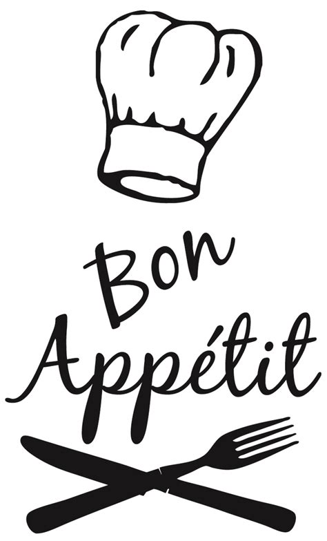 stickers deco cuisine bon appetit chef pixshark com images galleries