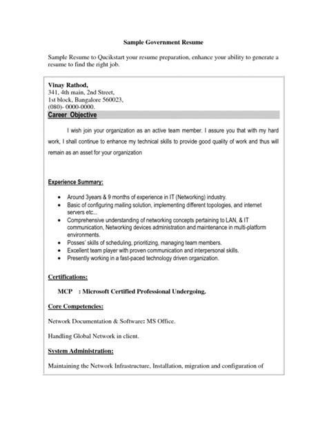 Government Resume Objective by Exles Of Resumes Professional Federal Resume Format 2017 In 93 Exciting Usa Domainlives