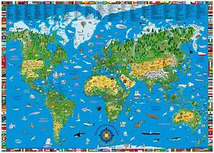 Kids World Map - grahamdennis.me