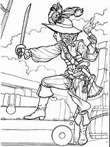 Pirates Coloring Pages Printable Boys Boy sketch template