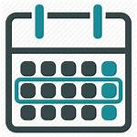 Week Icon Calendar Schedule Plan Event Icons