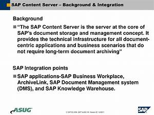 Ppt sap document management system integration with for Document management system server