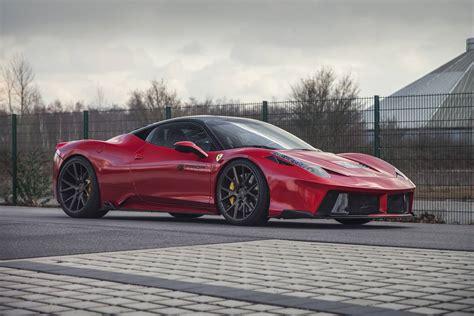 Red Prior Design Ferrari 458 Italia Widebody Gtspirit