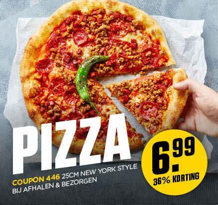 68629 Original Ny Pizza Coupon by Pizza Bestellen Breda Heksenwaag New York Pizza