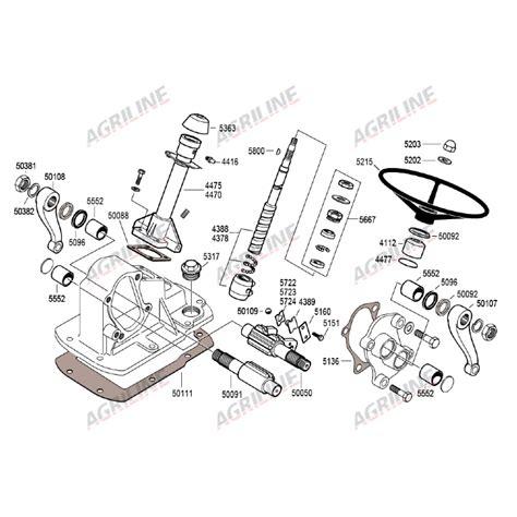 Mf 282 Wiring Diagram by Pakning Styrebox Transmission Kimskubic