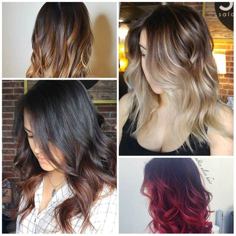 Hair Colors For Hair by Modern Ombre Hair Colors For 2017 Best Hair Color Ideas