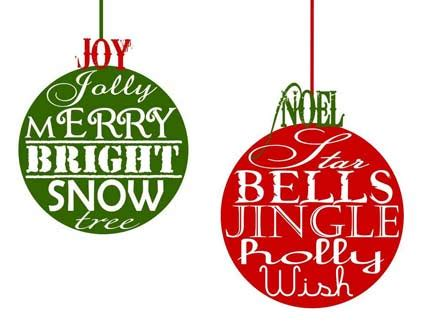 7 best images of free printable christmas lights