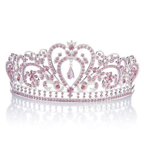 pink crowns and tiaras