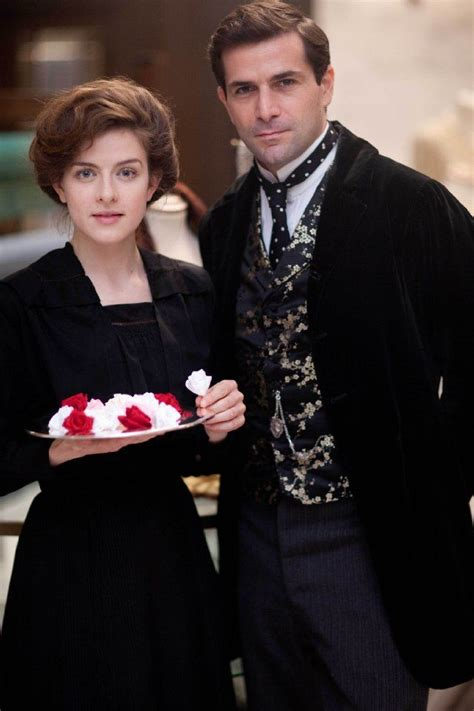 gregory fitoussi mr selfridge season 4 still of gr 233 gory fitoussi hubba hubba and aisling loftus