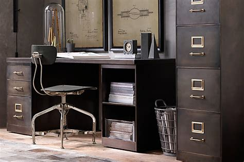 industrial style home office desk 12 industrial desks you 39 ll want for your home office