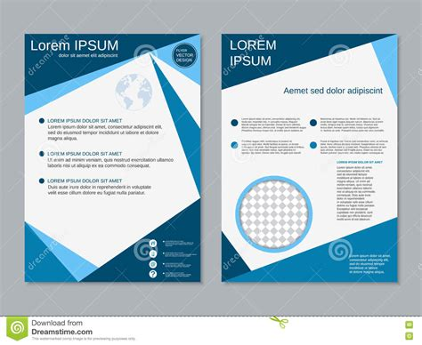 4 sided brochure template 2 sided brochure templates 7 best agenda templates