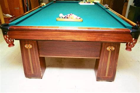 brunswick balke collender pool table brunswick balke and collender company regina antique