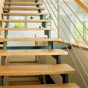 Geländer Für Treppe : gerade treppen kliegl treppenbau ~ Michelbontemps.com Haus und Dekorationen