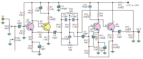 Make Complete Power Amplifier For Home Electronic Circuit