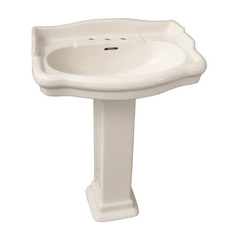 Barclay Pedestal Sink Stanford by Barclay Stanford 600 Pedestal Sink 8 Quot Widespread At Menards 174