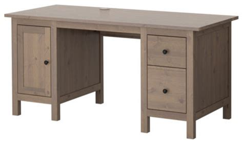 Ikea Hemnes Desk Hutch by Hemnes Desk Gray Brown Traditional Desks And Hutches