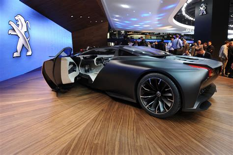 peugeot onyx supercar pictures auto express
