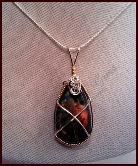 wire wrapping stones how to wire wrap a stone diy pinterest